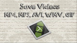 How to save Camtasia videos as mp4, mp3, AVI, WMV, GIF