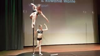 Wante Sport moeder & dochter; Nathalie & Rowanie - 3e plek Classic Pole Competition ADC