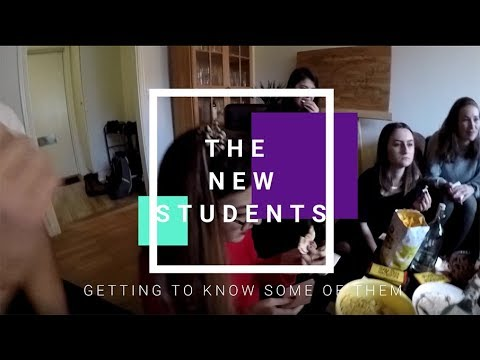 The new students - Student Vlog
