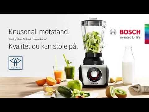 Bosch SilentMixx - mest stillegående mikseren på markedet