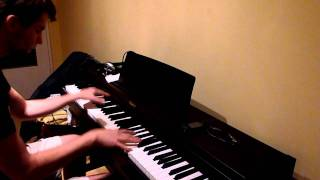 Usher - Dj got us falling love in again - piano