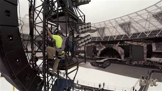 AC/DC Rock or Bust Tour - Load-in Day: London