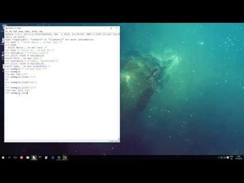 Tutoriale video Python nr. 16 despre metodele care le putem aplica asupra stringurilor