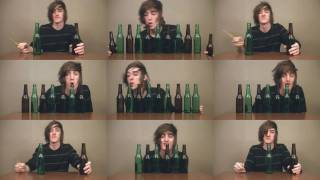 Saria's Song on Beer Bottles