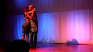 Albir Rojas & Sara Panero Kizomba Performance (Tó Semedo - Touch Me)
