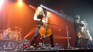 Not Strong Enough - Apocalyptica - Live @ Zénith de Paris, October 31st 2010