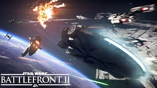 Star Wars Battlefront 2: Official Starfighter Assault Gameplay Trailer