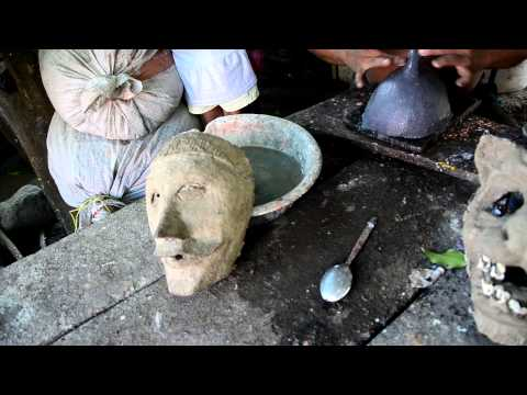 Mask Maker in Masaya Nicaragua