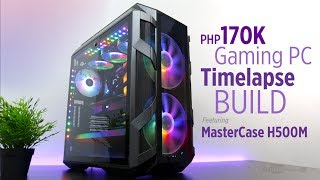 ($2,500) Php170K Gaming PC Time Lapse Build ft. MasterCase H500M, Intel i7 9700K & RTX 2080