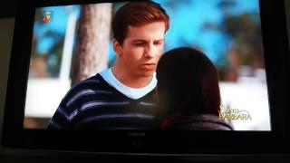 Santa Bárbara!!!! David e Marisa beijam se