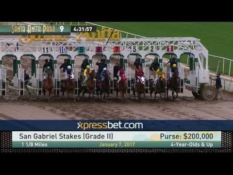 San Gabriel Stakes (Gr. II) - Saturday, 7 January 2017