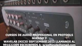 ESCUELA DE SONIDO FONOLA INICIO DE CLASES LUNES 17 DE SEPTIEMBRE 2012