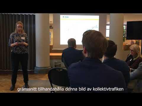 Hogia berättar om kombinerad mobilitet för Trafikutskottet