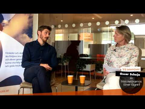 Vd intervjuar löneexperten Oscar Scheja