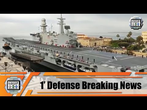 Italian Navy Cavour Aircraft Carrier ready for F-35B integration tests