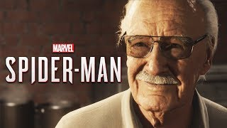 Stan Lee's Cameo - Marvel's Spider Man PS4
