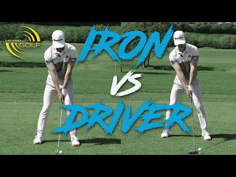 IRON vs DRIVER Set-Up Basics | ME AND MY GOLF
