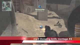 mw3 throwing knife montage #5 (the best of...)