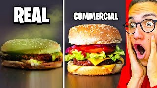Reacting To INSANE COMMERCIALS VS. REAL LIFE!
