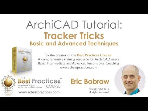 ArchiCAD Tutorial | Tracker Tricks
