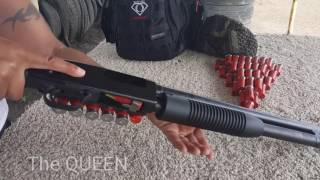 "The Queen Runs A Body By ""O"" Tactical Urban Shotgun Drill"