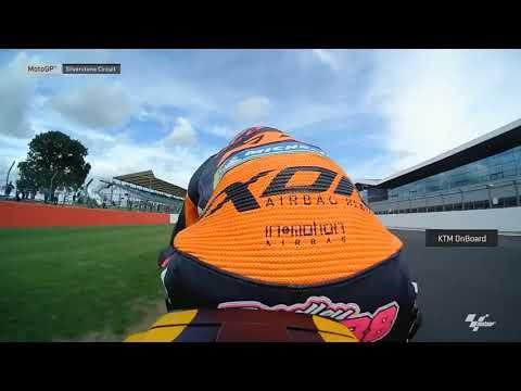 British GP: KTM OnBoard