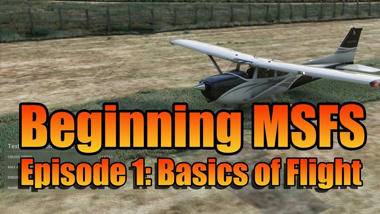 frooglesim - BEGINNING MSFS - BASIC FLIGHT