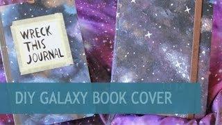 DIY Galaxy Book Cover