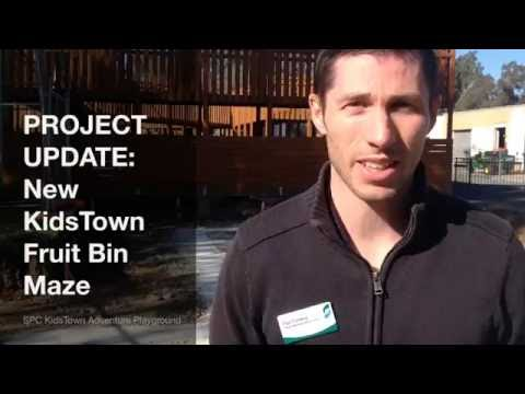 PROJECT UPDATE : KidsTown Fruit Bin Maze upgrade