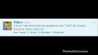 [Audios] Anahi #1 En la radio FMBox (Chile)