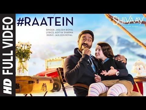 RAATEIN LYRICS - Shivaay Song | Ajay Devgn