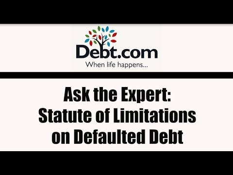 Ask the Expert Debt Collection Statute of Limitations