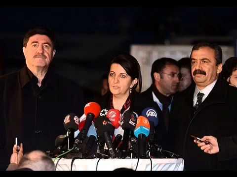 Kandil'deki PKK'lılara yazdığı mektubu götüren BDP milletvekillerinin, Kuzey Irak'taki örgüt