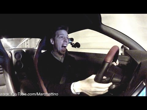 Armytrix Nissan GT-R INSANE Sound & Reaction!