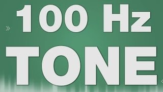 Beep Tone SOUND EFFECT - 100 Hz Hertz Ton Piep SOUNDS