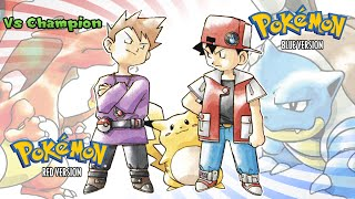 Pokemon Red/Blue/Yellow - Battle! Champion Music (HQ)