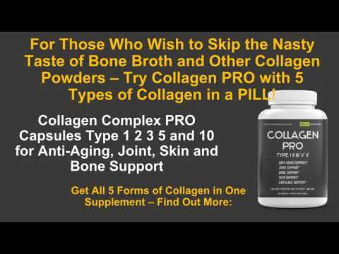 Collagen PRO 5 Types of Collagen in a Pill & Easier to Take than Powders