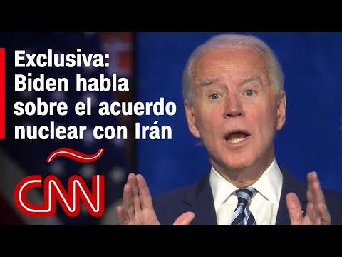 Exclusiva: Biden habla sobre el acuerdo nuclear con Irán