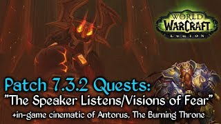 The Speaker Listens - Quest - World of Warcraft