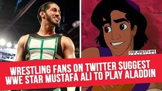 Wrestling Fans On Twitter Suggest WWE Star Mustafa Ali To Play Aladdin In Live Action Remake
