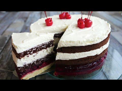 Торт » ЧЕРНЫЙ ЛЕС»  🍰  просто ВКУСНОТИЩА !!!