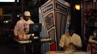 Chuck Inglish & Polyester The Saint LIVE @ Delicious Vinyl in Hollywood