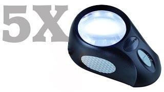 Video Lupa Led 5X leuchtturm