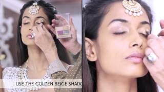 Step By Step Indian Bridal Eye Makeup Tutorial | BeBeautiful