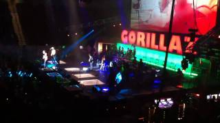 "Gorillaz - ""Rhinestone Eyes"" - LIVE - Boston 10/06/2010"