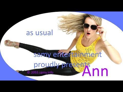 It's my life (Actress Ann as always in high heels and black wetlook leggings)