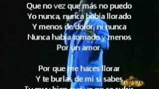 Letra de Porque Me Haces Llorar - Juan Gabriel