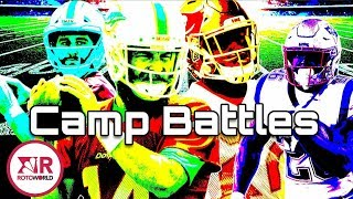 NFL Training Camp 2019: Best position battles to watch | NBC Sports