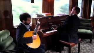 Amar Pelos Dois (instrumental cover) - Portuguese Guitar and Piano