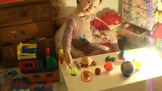 os planetas, Maria Eduarda 3 anos brincando de aprender